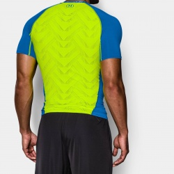 fitness under armour-Armour Vent SS Compr. Shirt
