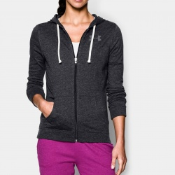 fitness under armour-CC Tri-Blend Full Zip Hoodie