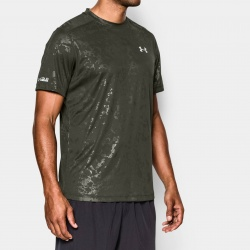 fitness under armour-Cold Black Run T-Shirt