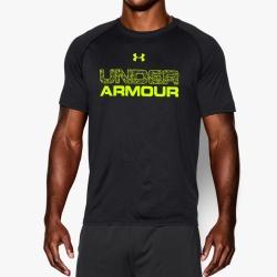 fitness under armour-Core Wordmark Fill 1 Shirt